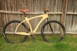 connor cycles wood scorcher bike