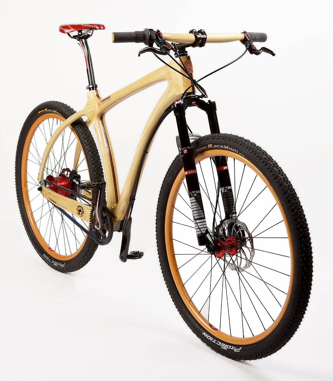 Durt Mountain Bike Connor Wood Bicycles Wood Bikes
