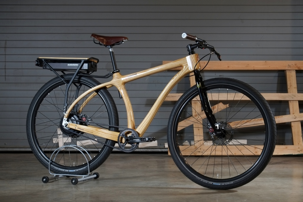 Electric Connor Wood Bicycles Wood Bikes From Denver