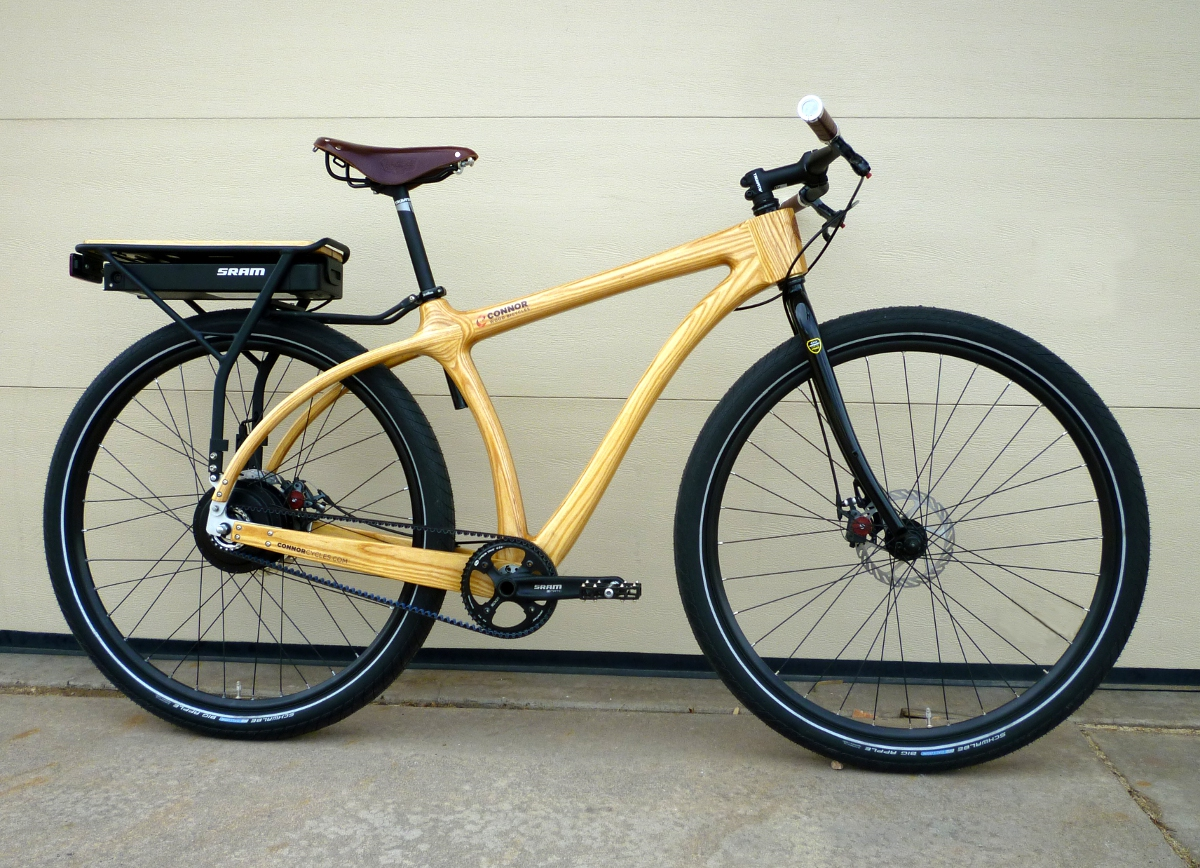 Electric – Connor Wood Bicycles — Wood bikes from Denver Colorado