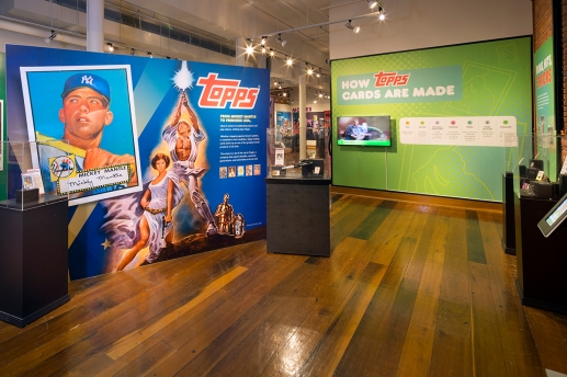56914 Louisville Slugger Museum & FactoryTOPPS Gallery Exhibit