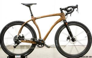Connor Wood Cycles' cyclocross/gravel bike built for an arborist. © Cyclocross Magazine